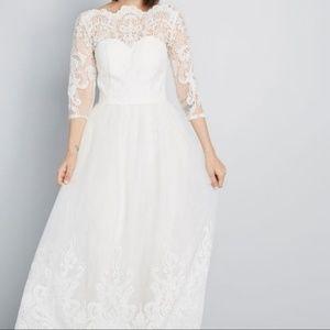 NWT Modcloth Chi Chi London long wedding dress
